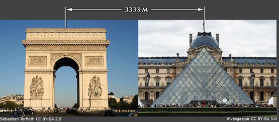 Arc-de-Triomphe-Louvre-Pyramid-5552