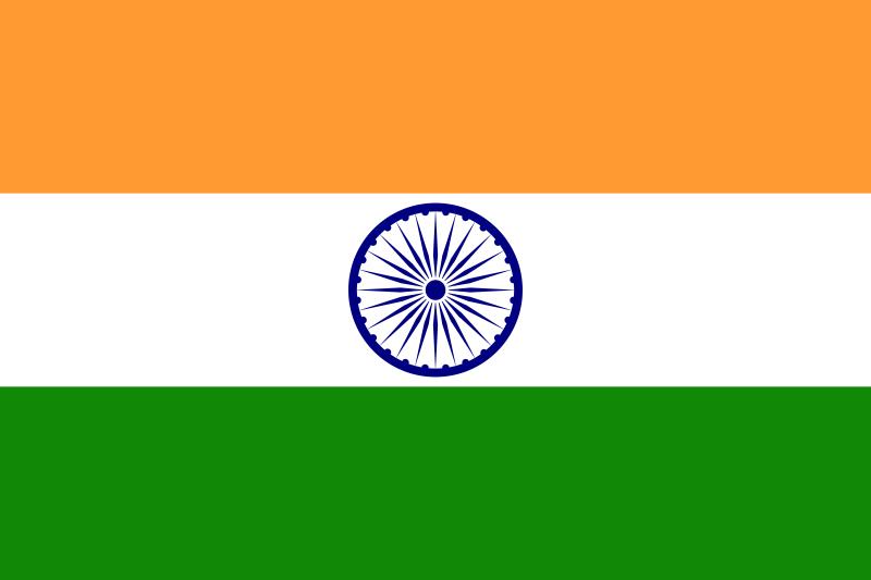 Drapeau-Inde