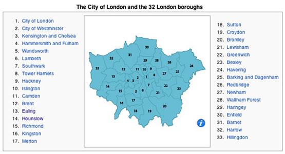 London 32 departement