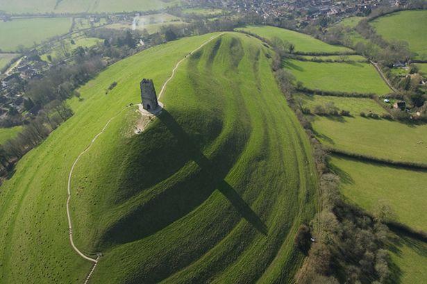 Glastonbury-Tor-in-Somerset