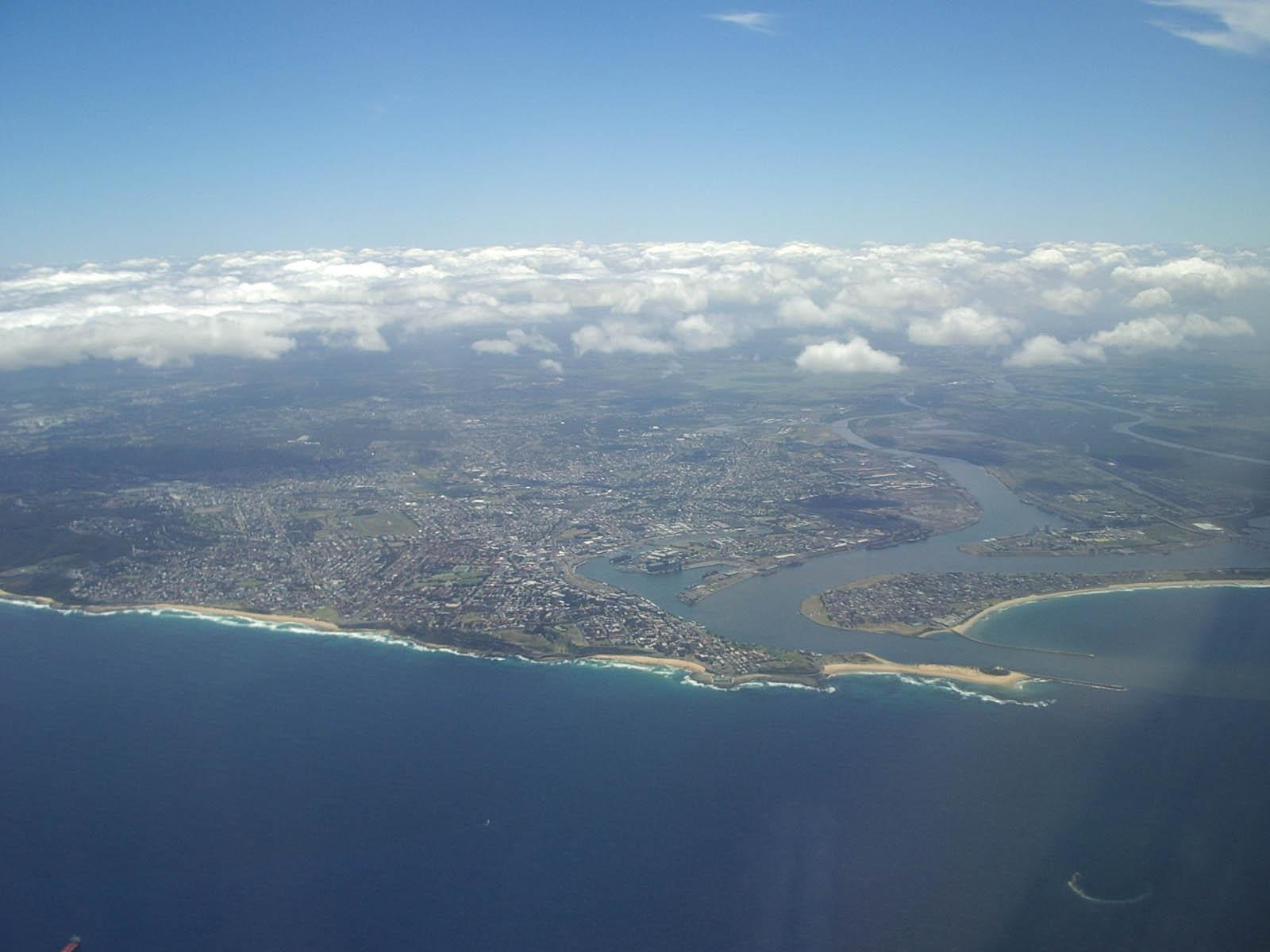 Newcastle,_Australia_aerial